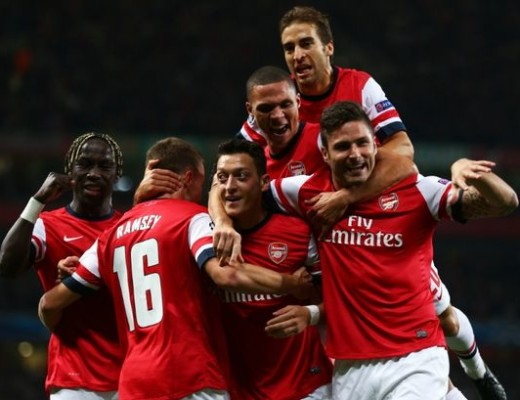 Arsenal-v-SSC-Napoli-UEFA-Champions-League