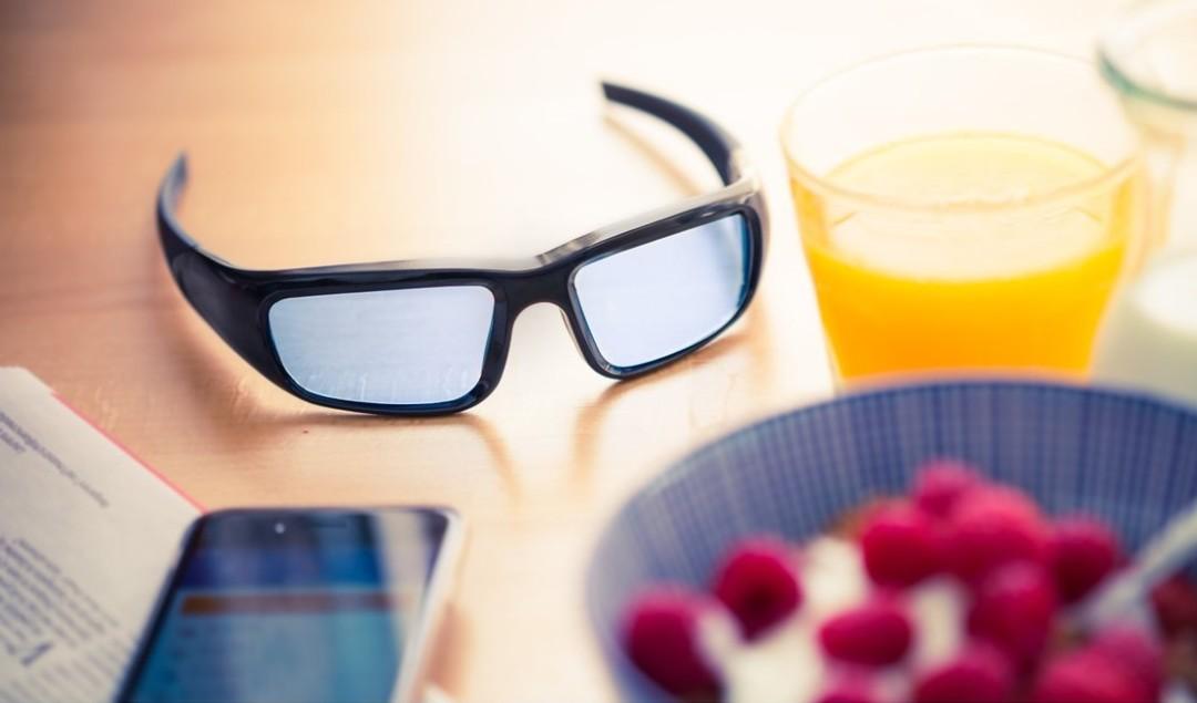 Lichtbril tegen overgewicht