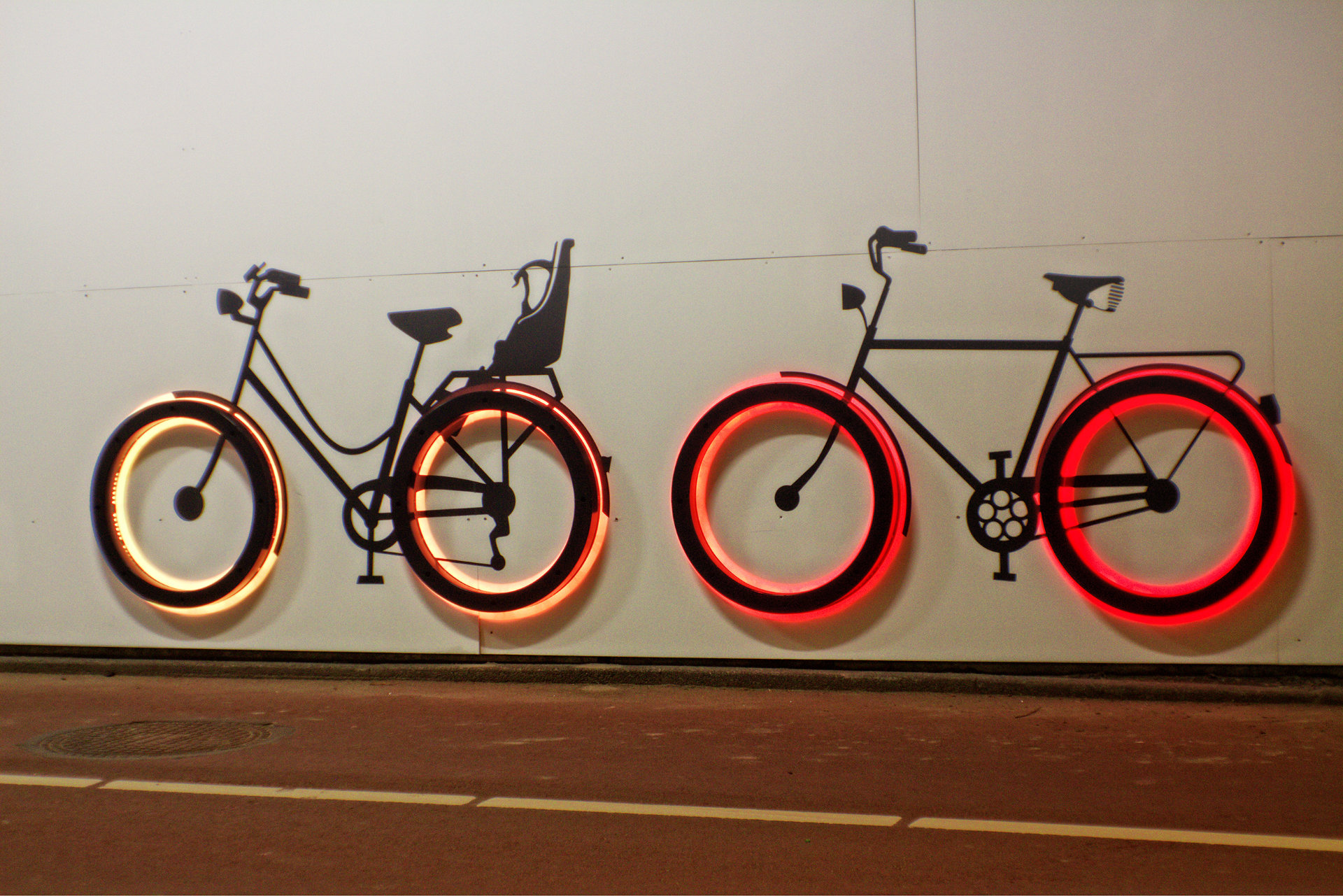Fietstunnel LightingandDesign