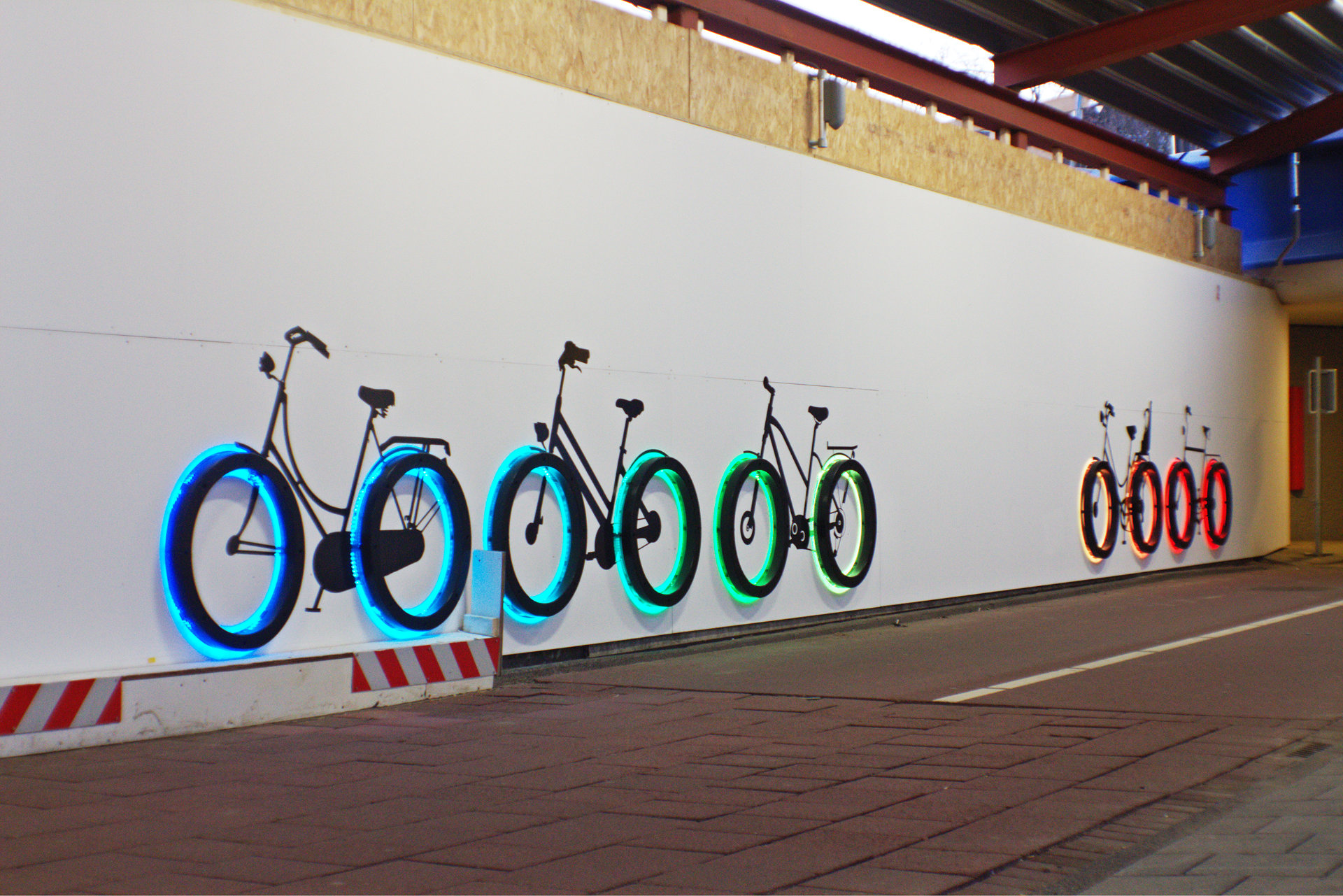 Fietstunnel LightingandDesign4